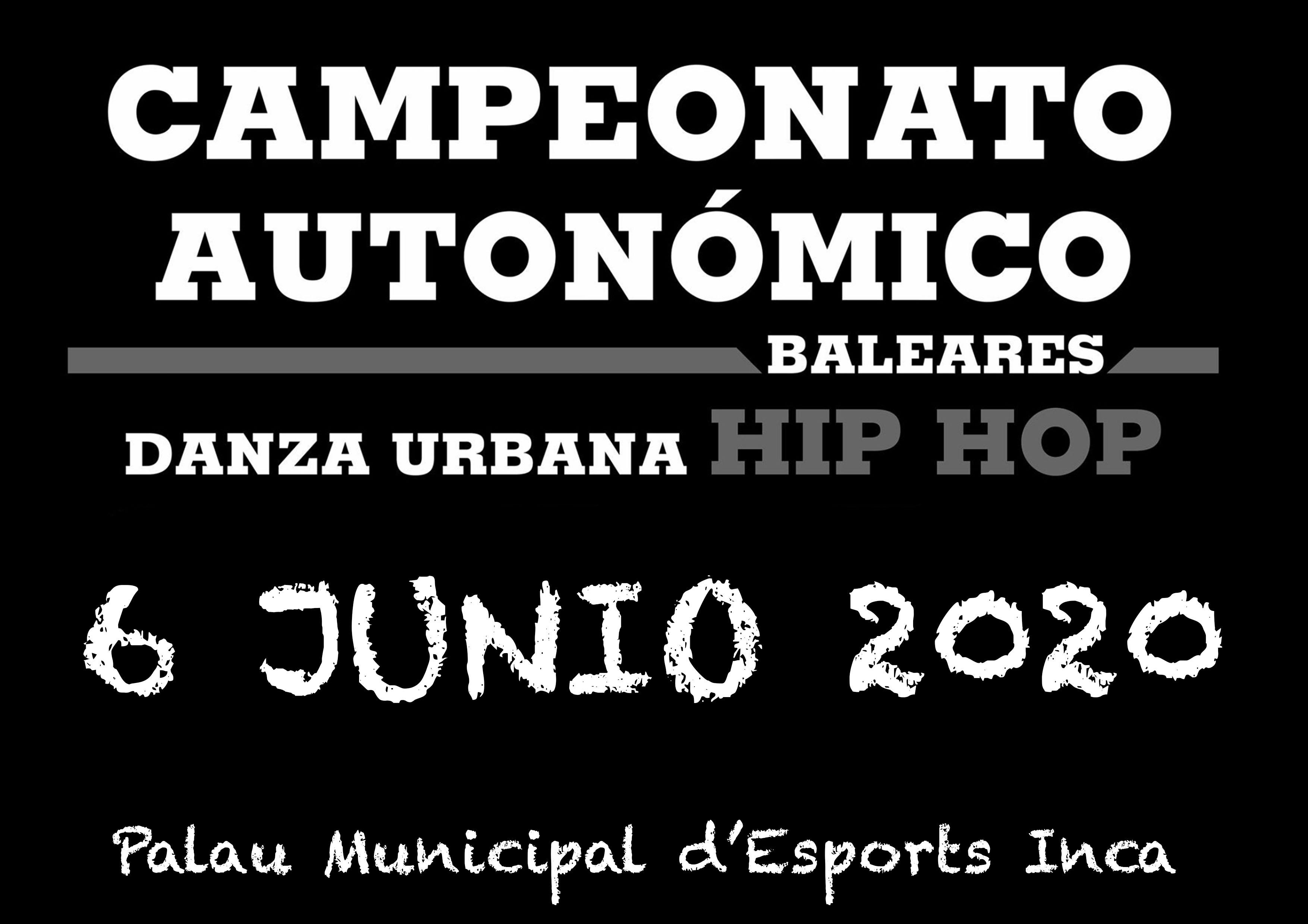 Campeonato Autonómico Danza Urbana Hip Hop 2020