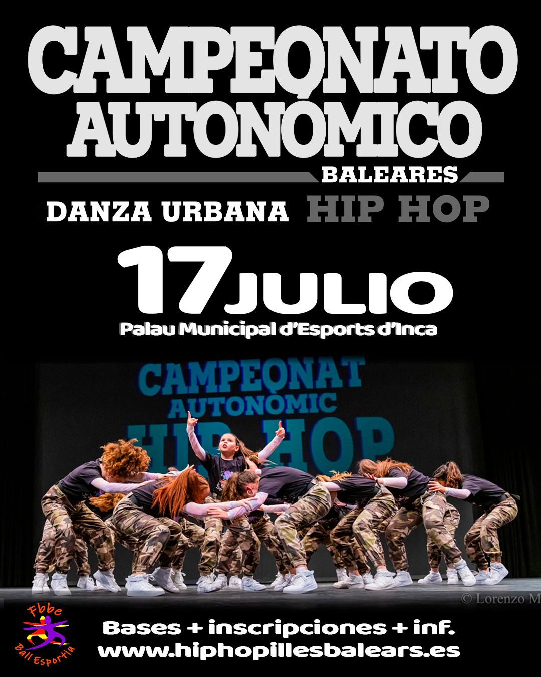 Campeonato Autonómico Hip Hop Danzas Urbanas 2021